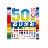 50色おりがみ 折り紙 24×24cm 60枚入り トーヨーEC-001023