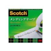 メンディングテープ 修繕テープ 紙箱入り 大巻 幅18mm 1巻 スリーエム EC-810-3-18