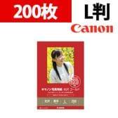 Canon 写真用紙・光沢 ゴールド L判 200枚