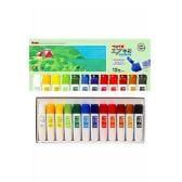 12色セット 水彩絵の具セット 各12ml エフ水彩 ぺんてる EC-WFC1-12