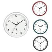 電波掛時計 カペラ 時計 タイムキーピング 連続秒針 静音 シンプル 直径27cm 単三電池×1(別売) 幅270×奥行50×高さ270mm