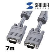 ディスプレイ 複合同軸ケーブル 7m D-sub15pin-D-sub15pin