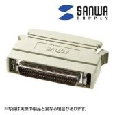 SCSIターミネータ シングルエンド ピンタイプハーフ50pinオス