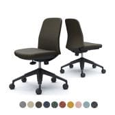 CD13MR   ライブス エントリーチェア Lives Entry Chair オフィスチェア 椅子  肘なし 5本脚 ブラックボディ インターロック (オカムラ)