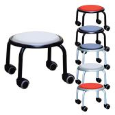 ローキャスター ボン 高耐荷重(100kg)強じん脚キャスターチェアー 低座位作業用チェアー スタッキング可能 作業椅子