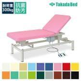 高田ベッド 電動昇降ベッド 施術ベッド 医療用ベッド 【背上げ機能】 電動リクライト(無孔) TB-479