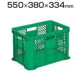 リス MB型リステナー メッシュ 緑 MB-58 / 376-2190