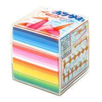 千羽鶴用おりがみ 折紙千羽鶴 7.5×7.5cm 1001枚入り 20色 トーヨーEC-002004