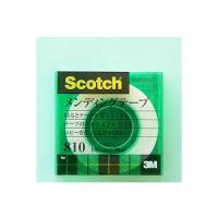 メンディングテープ 修繕テープ クリアケース 小巻 幅18mm 1巻 スリーエム EC-810-1-18C