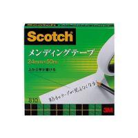 メンディングテープ 修繕テープ 紙箱入り 大巻 幅24mm 1巻 スリーエム EC-810-3-24