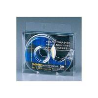 粘着テープ はってはがせるテープ 小巻 テープカッター付き 幅12mm 1巻 スリーエム EC-811-1-12D