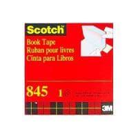 ブックテープ ラミネートテープ カバーテープ 透明 幅76.2mm 1巻 スリーエム EC-845-76