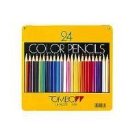 色鉛筆 色えんぴつ 24色セット 缶パッケージ トンボ鉛筆 EC-CB-NQ24C