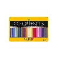 色鉛筆 色えんぴつ 36色セット 缶パッケージ トンボ鉛筆 EC-CB-NQ36C