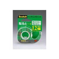 メンディングテープ 修繕テープ テープカッター付き 小巻 幅12×11.4mm 1巻 スリーエム EC-CM-12