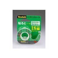 メンディングテープ 修繕テープ テープカッター付き 小巻 幅18×7.6mm 1巻 スリーエム EC-CM-18