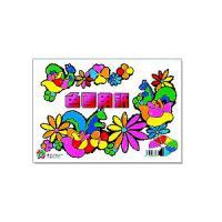 色画用紙 A4サイズ セット色内容(青・ピンク・黄色・オレンジ・水色・黄緑・赤・黒・白) 1冊28枚 サンスター文...