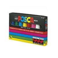 8色セット 水性マーカー マジック ポスカ 太字 8m 各色1本 三菱鉛筆 EC-PC8K8C