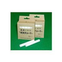 工事用雨天チョーク 石膏カルシウム製 1箱10本入 日本白墨 EC-UC-2