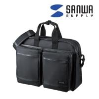 超撥水 軽量PCバッグ 3WAYタイプ 15.6型ワイド シングル ブラック