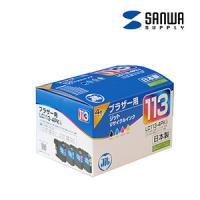 リサイクルインクカートリッジ ブラザー LC113-4PK用