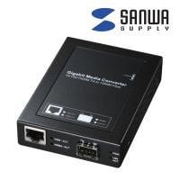 光メディアコンバータ ノイズの影響を受けずギガビット長距離ネットワークに最適