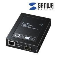 光メディアコンバータ ノイズの影響を受けずギガビット長距離ネットワークに最適(PoE対応)