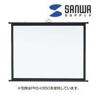 プロジェクタースクリーン 壁掛け式 表示サイズ 1219×914mm
