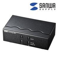 ディスプレイ切替器 ミニD-sub HD15pin用・2回路