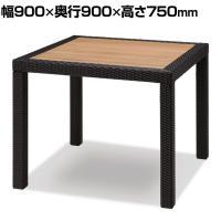 イザベラ ダイニングテーブル テーブル 屋外使用可能 幅900×奥行900×高さ750mm