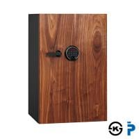 DBAUM/プレミアムセーフ プレミアム耐火金庫 TFL タッチスクリーン&指紋認証ロック/135kg/84L/D...