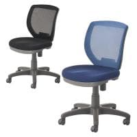 メッシュチェア オフィスチェア 事務椅子 フック付き FL-1 幅620×奥行650×高さ810~930mm【ブラ...