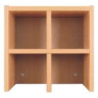 【増設用】Garage(ガラージ)/CubeCompo(キューブコンポ) 収納庫 飾り棚ユニット/GA-R350-DI