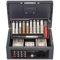 手提金庫 B5サイズ/テンキー錠/幅315×奥行225×高さ135mm/IR-SBX-B5T