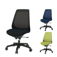 ITOKI(イトーキ) ノナチェア メッシュチェア オフィスチェア 事務椅子 肘なし ハンガーなし ブラック・ネイ...