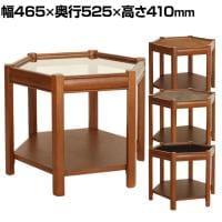 【11月下旬入荷予定】ACME Furniture ブルックス ヘキサゴンテーブル テーブル サイドテーブル 幅4...