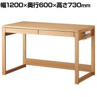オフィスデスク Beeno 120デスク テレワーク 幅1200×奥行600×高さ730mm BDD-073NS