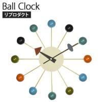 ボールクロック ジョージ・ネルソン リプロダクト 素材:ソリッドウッド/スチール 幅330×奥行70×高さ330mm