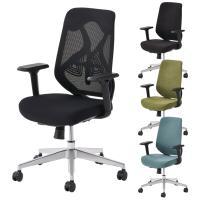 オフィスチェア YS-1 事務椅子 肘付き 可動肘 メッシュチェア/布張りチェア 幅690×奥行705×高さ950...