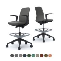 CD23JR   ライブス エントリーチェア Lives Entry Chair オフィスチェア 椅子  固定肘 ...