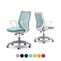 CCG21XR | オフィスチェア CG-M CG21XR メッシュタイプ ホワイトフレーム デザインアーム ゴム...