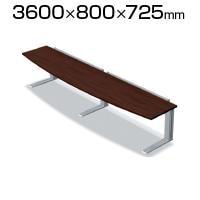 XL-368R LM/M4 | XF DESK TYPE-L XFデスク タイプL 会議テーブル キャスター付き ...