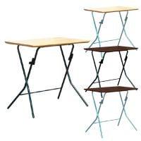 スタンドタッチテーブル 角型 折りたたみテーブル 完成品 日本製 幅750×奥行500×高さ700mm