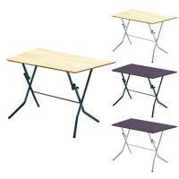 スタンドタッチテーブル 角型 折りたたみテーブル 完成品 日本製 幅900×奥行600×高さ700mm