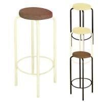 セレナ カウンタースツール カウンターチェアー スタッキング可能 ワッフル生地&肉厚座面 作業椅子