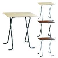フォールディングテーブル 商談テーブル 角型 完成品 日本製 幅600×奥行450×高さ680mm