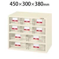 サカエ フレシスラックケース パーツケース 小物管理棚 部品箱 FCR-4FT 幅450×奥行300×高さ380mm