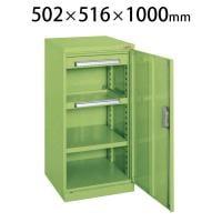 サカエ ミニ工具室 K-80N 幅502×奥行516×高さ1000mm 工具保管 工具キャビネット