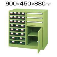 サカエ KU-CK1T | 工具管理ユニット 鍵付き 25個収納 8段 幅900×奥行450×高さ880mm