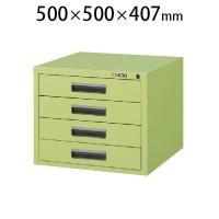 サカエ NKLキャビネット NKL-44 幅500×奥行500×高さ407mm